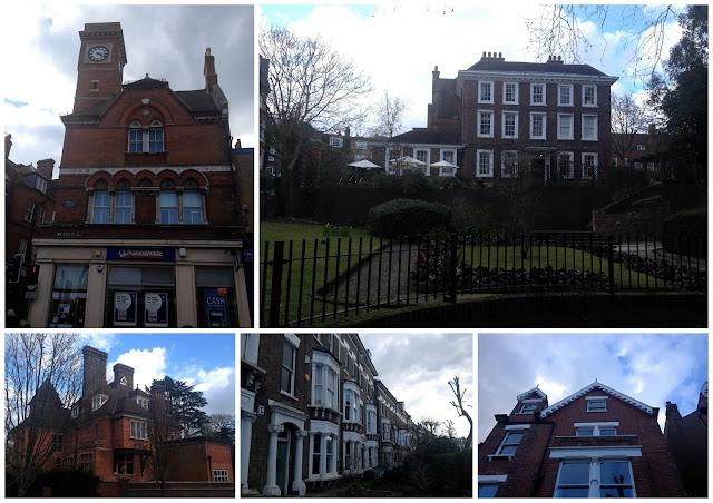 Casas Victorianas del barrio de Hampstead