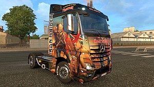 Iron Maiden Trooper Mercedes MP4