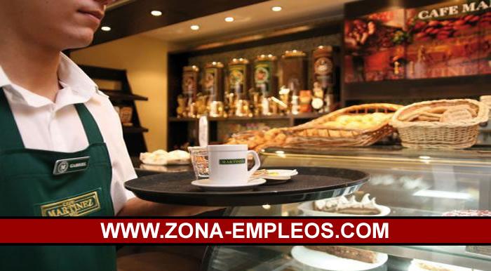 SE BUSCAN CAMAREROS/AS PARA CAFÉ MARTÍNEZ CON O SIN EXPERIENCIA
