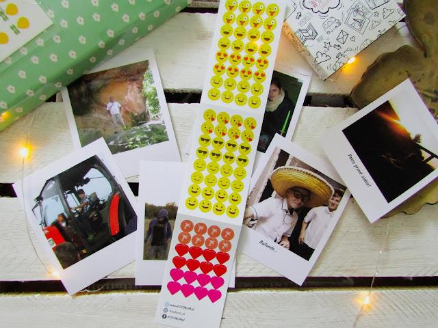 Fotobum, zdjęcia, polaroid, naklejki, Instax, podpisy, fotografie