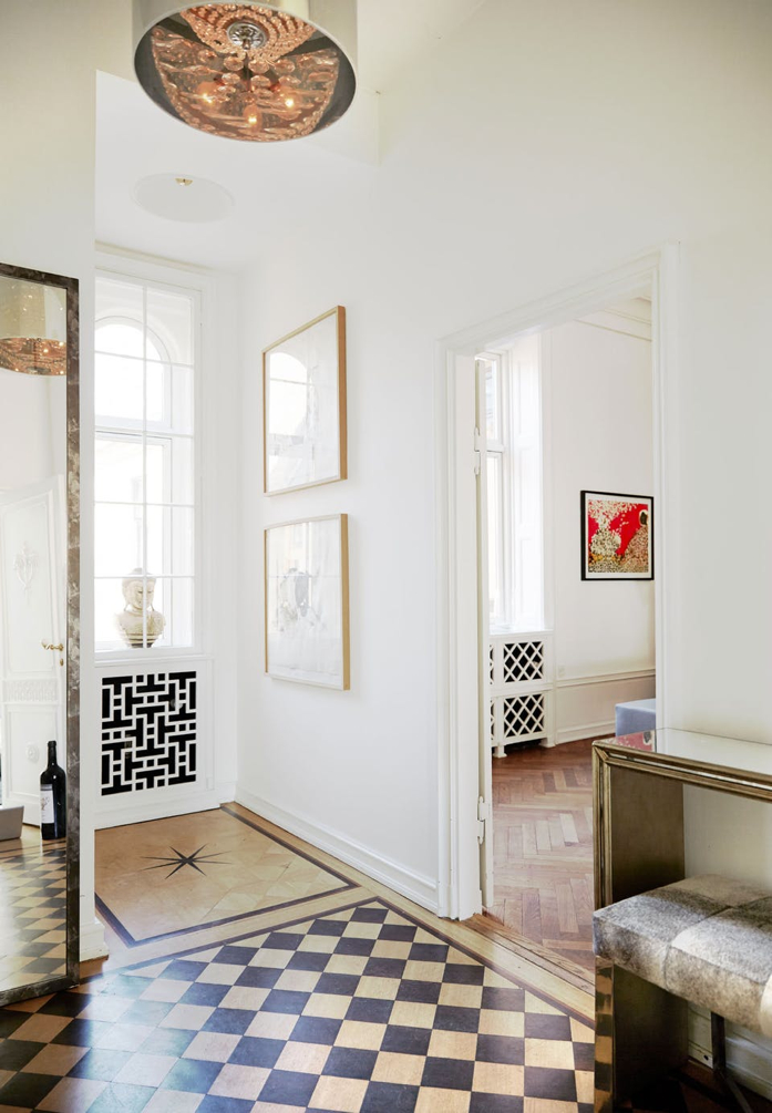 Such a lovely space with beautiful details