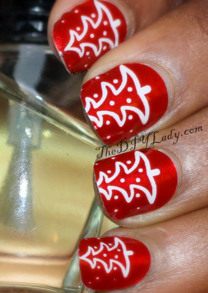 Do It Yourself Nail Designs: The Do It Yourself Lady: Review: OMG Nail Strips