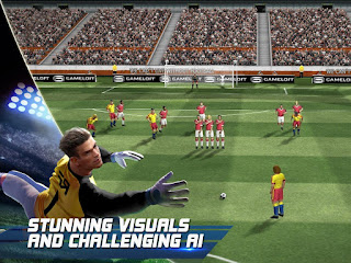 Download Real Football 2016 APK Terbaru