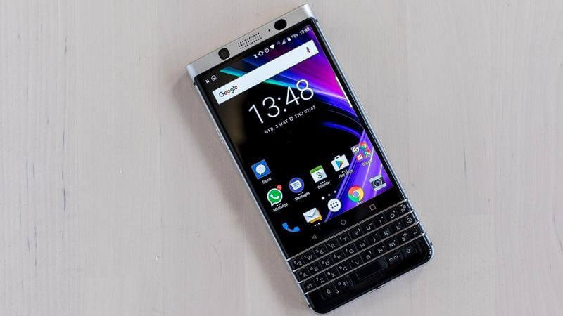 10- BlackBerry Keyone