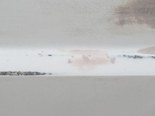 bondo filled pits in fiberglass surface