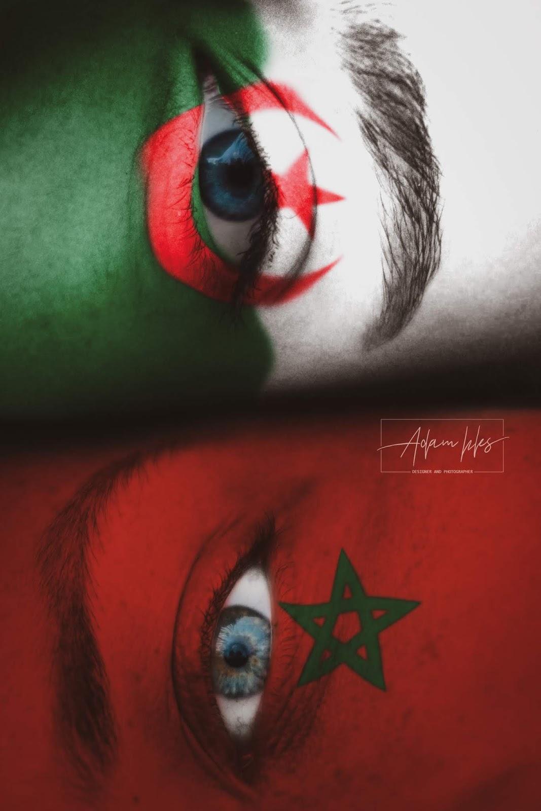 صورة علم لبنان وعلم العراق