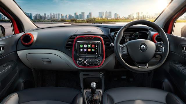 Renault Captur इंटीरियर,Renault Captur इंटीरियर deshbord