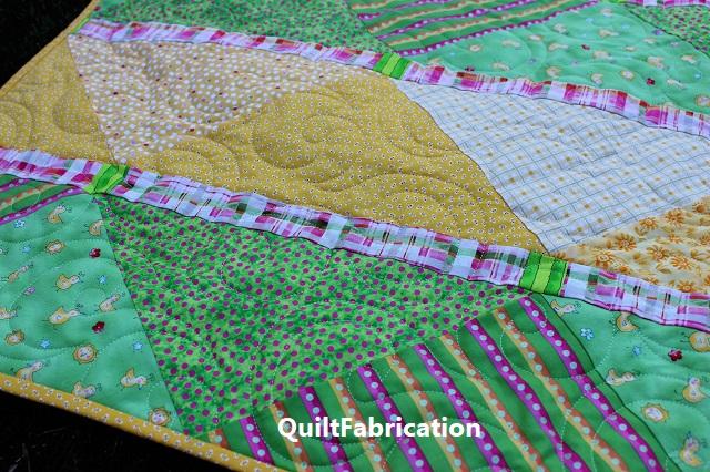 McKenzie baby quilt quilting