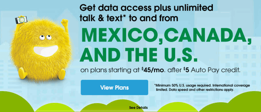 Cricket Adds Data Roaming In Mexico And Canada To 50 And