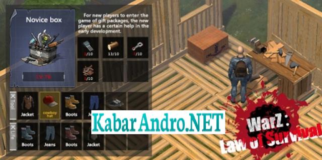WarZ: Law Of Survival v2.1.3 Mod Apk (Full Unlimited)