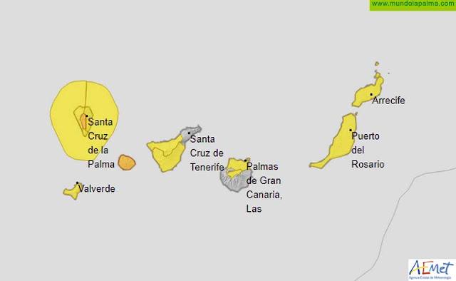 El Gobierno de Canarias declara la situación de Alerta por Vientos en Islas Occidentales y Gran Canaria