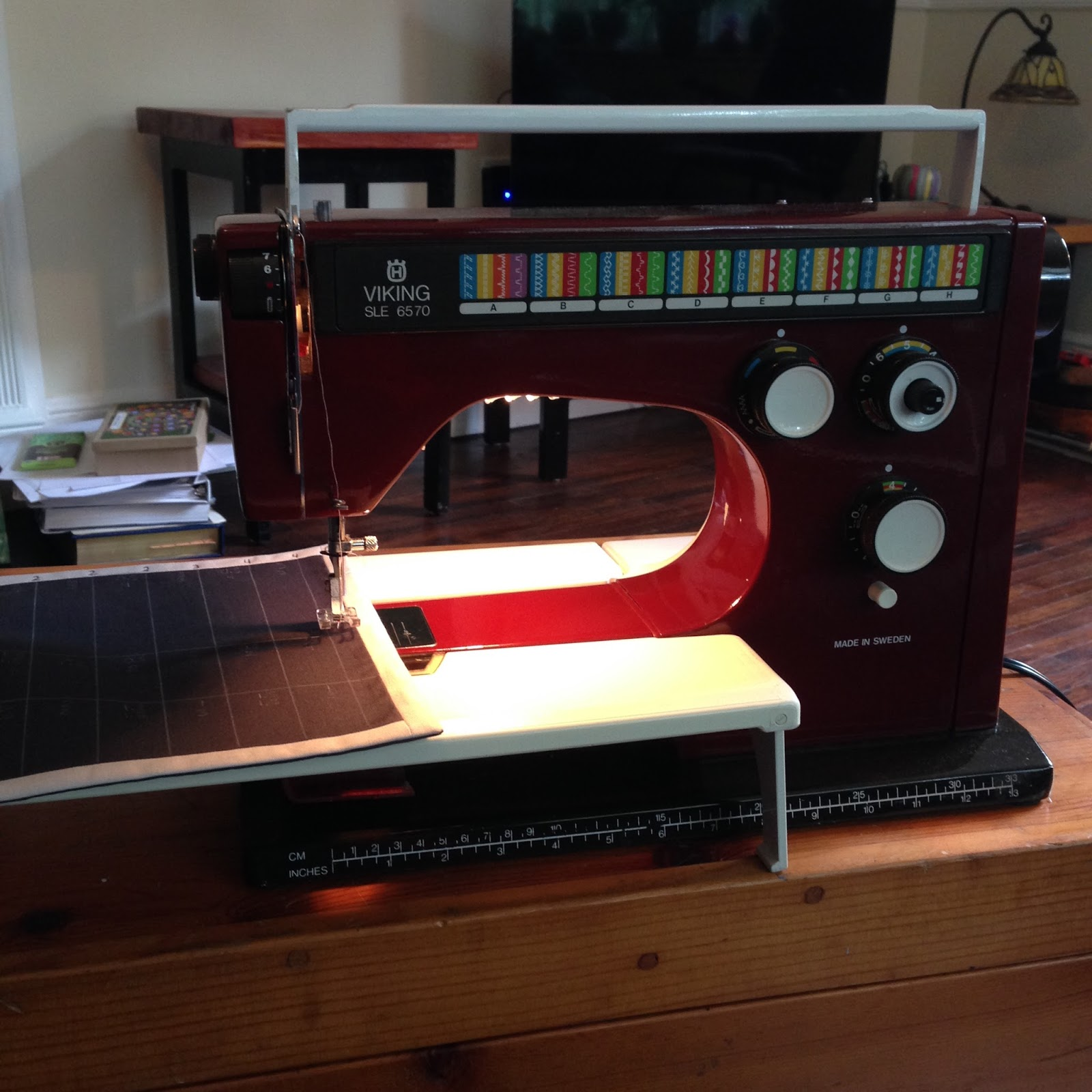 ruby sewing machine viking