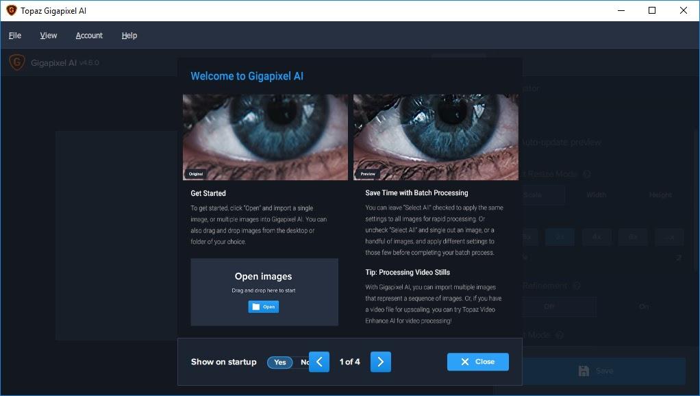 تحميل برنامج Topaz Gigapixel AI 4.9.4.1 لإعادة تشكيل الصور وتغيير حجمها