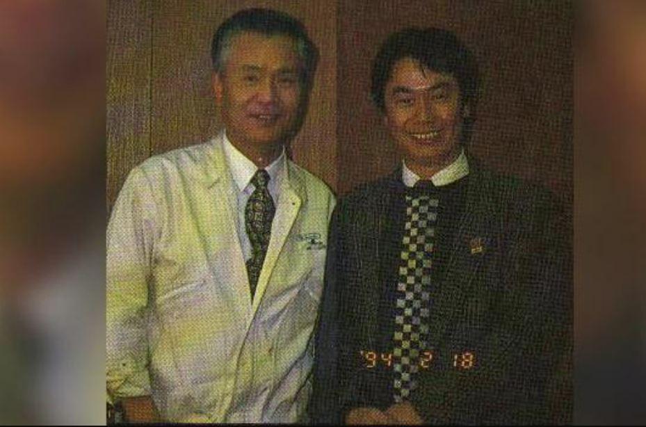 gunpei Yokoi and game designer Shigeru Miyamoto