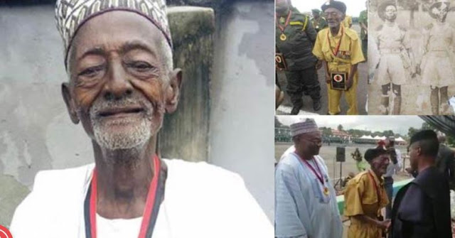 Nigeria's oldest World War veteran dies at 101