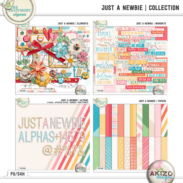 Kit - Just A Newbie by Akizo Designs