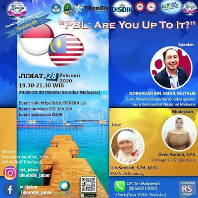 Webinar Bersama Guru Sains Jawa Barat,Indonesia.