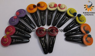 kalanirmitee: paper quilling- quilled flowers- quilled roses- flowers- hairclips
