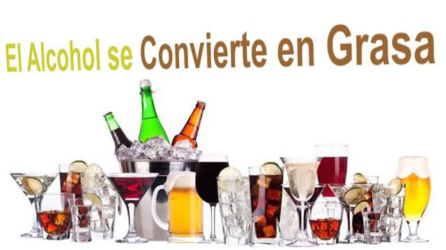 El Alcohol se Convierte en Grasa