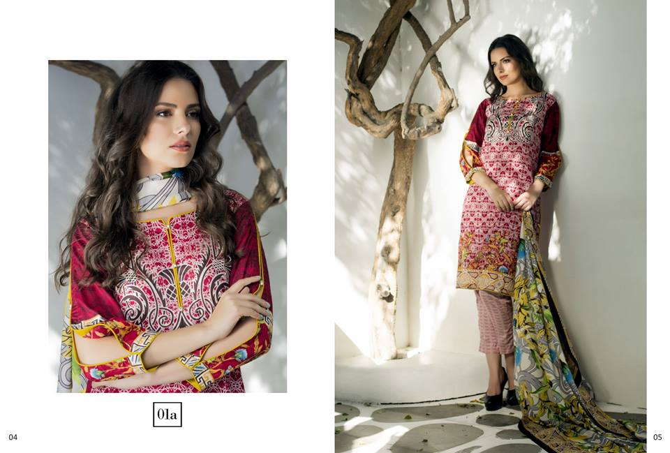 Anum Latest Summer Printed Lawn Dress Designs 2017 by Al-Zohaib ...
