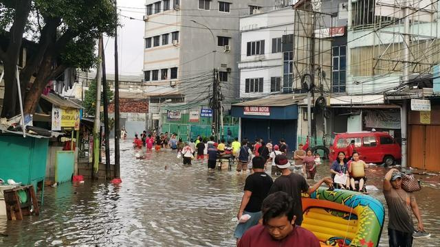 BPS Ungkap Banjir Jadi Penyumbang Inflasi Januari 2020.