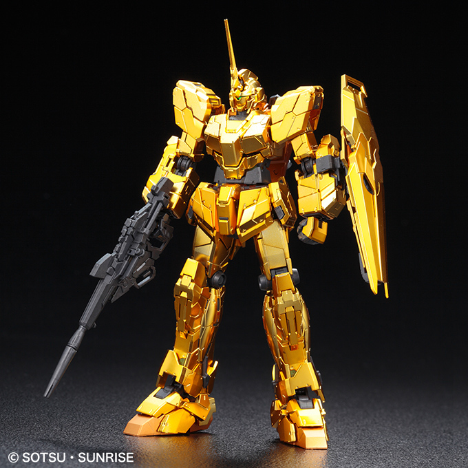 Gundam RG 1/144 Unicorn Gold Coating Unicorn Mode