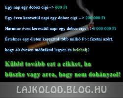 ne dohányozz, hagyd abba)