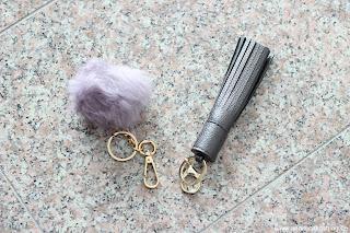 Fashion Review: Justfab - mein Sommerschuh und Taschen Haul - Taschenanhänger