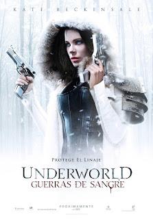 Poster de Underworld Guerras de Sangre 2017