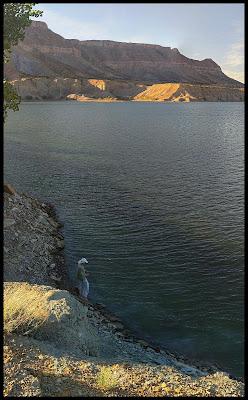 Fishing on Millsite Reservoir Ferron Utah
