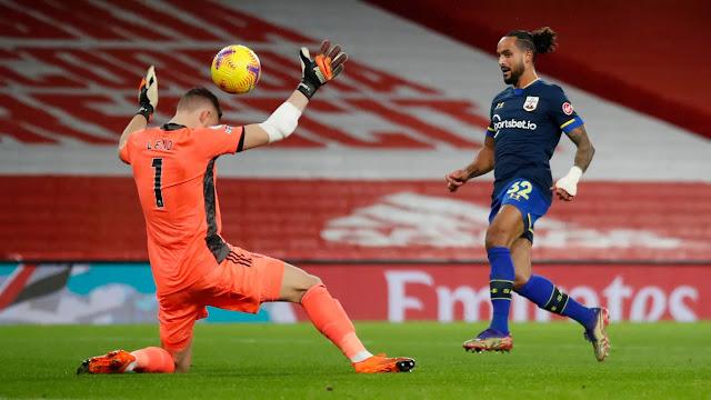 Southampton forward Theo Walcott