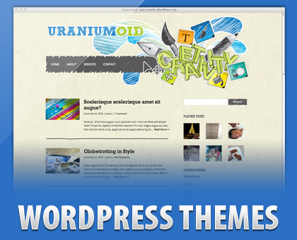 Free Uraniumoid - creativity and artistry WP Theme