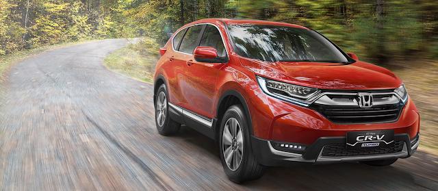 Spesifikasi dan Harga Honda CR-V Terbaru