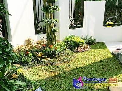 Jasa Pembuatan Taman Rumah Minimalis Surabaya