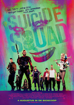 Suicide Squad International Theatrical One Sheet Movie Poster