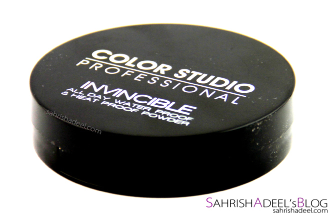 Color Studio Pro Invincible All Day Water Proof and Heat Proof Powder - Review & Swatches