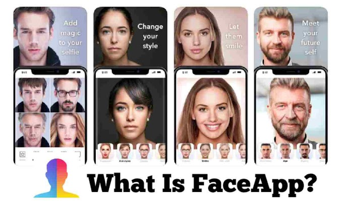 What is FaceApp, do you also use FaceApp?