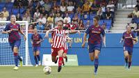 FÚTBOL - La Liga Femenina se determina con el Barça campeón y ascendiendo el Santa Teresa y el Eibar