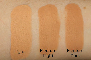 5 Days of Foundation: L'Oreal Glam Beige Healthy Glow Foundation Review Swatch Swatches Light Medium Light Medium Dark