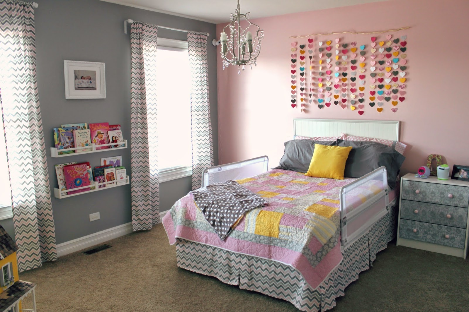 7 Inspiring Kid Room Color Options For Your Little Ones: All Things DIY: The Waterfall Of Hearts