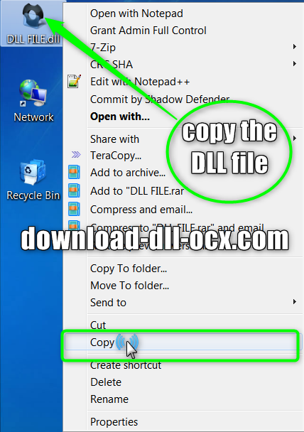 copy the dll file pxcj3260.dll