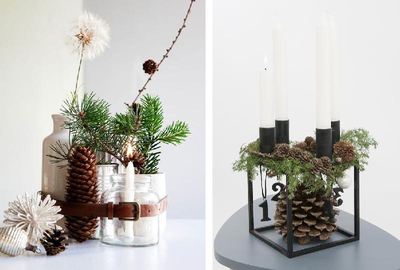 decorazioni di Natale dal sapore nordico