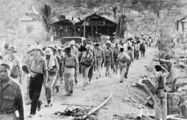 Bataan Death March 10 April 1942 worldwartwo.filminspector.com
