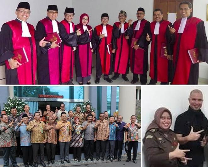 Bawaslu Ingatkan Hakim dan Jaksa yang Pose 'Dua Jari'