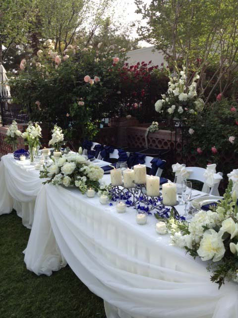 Another Beautiful Wedding Was Held In My Backyard Last Week This Time I Didn T Have To Do Anything But Show Up And Be A Guest