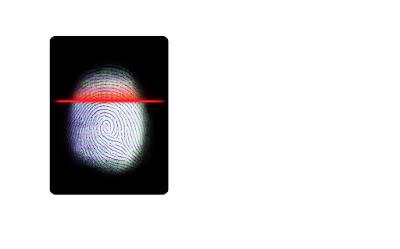 Huella dactilar escaneada