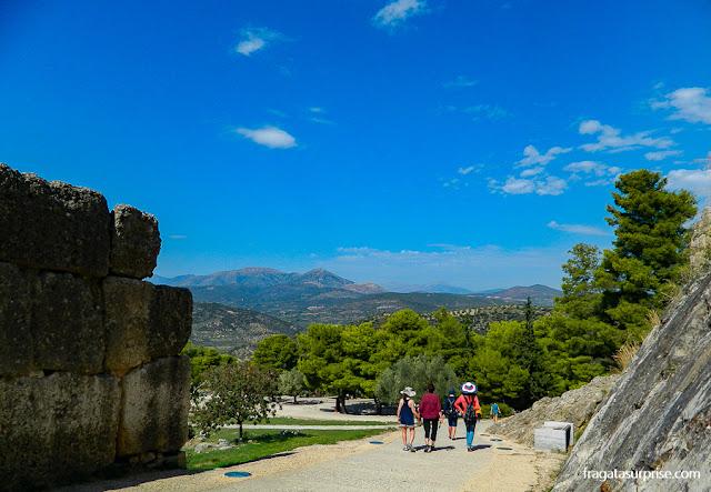 Porta dos Leões, Sítio Arqueológico de Micenas, Grécia