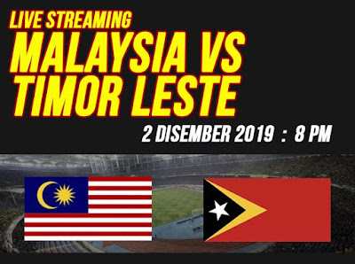 Live Streaming Malaysia vs Timor Leste (SEA GAMES) 2.12.2019