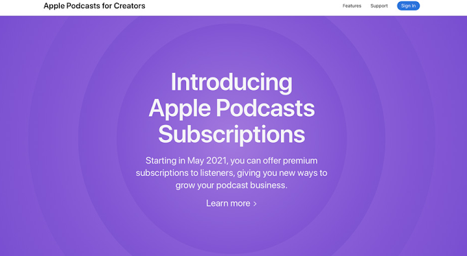 Apple ajoutera des abonnements payants à son appli Podcasts