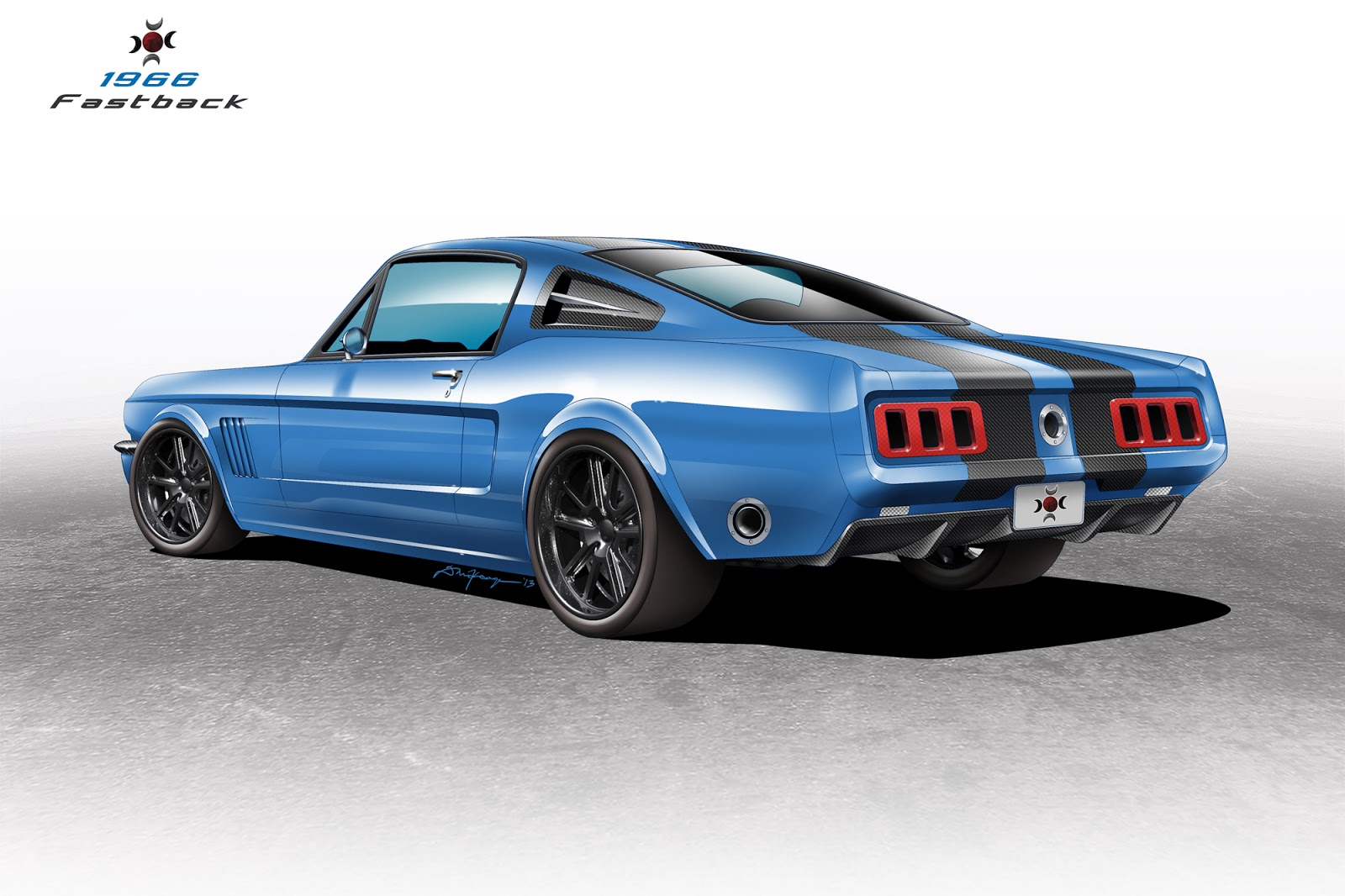 Darren McKeage: Customs Factory Custom Mustang